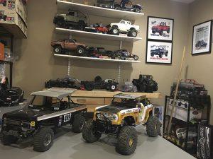 MST, Bronco, Baja 1000, Parnelli Jones, Big Oly, Pro-Line, Tamiya, Pit Bull, RC4WD, Gear Head, Samix RC, King, Wertmade, Warn, Spektrum