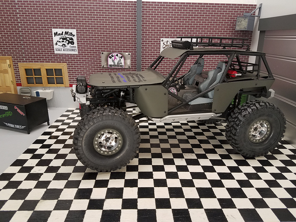 Rat Rod, Axial Wraith, Crawler, Pit Bull Tires, Dave Keith, Reef's RC, CNC Custom