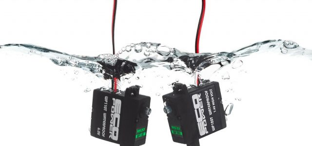EcoPower WP110T & WP120T Waterproof Servos