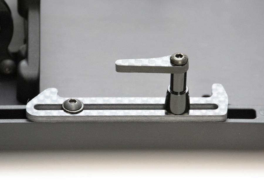 Exotek XRAY XB2 & XT2 Carbon Fiber LiPo Tabs & Cups Set