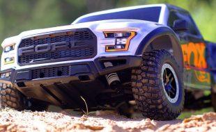 Fox Shox Edition Ford Raptor Traxxas Slash [VIDEO]