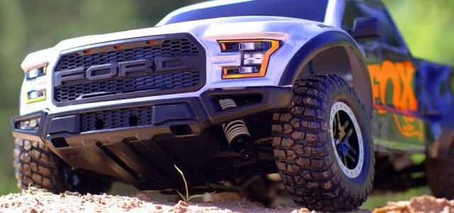 Fox Shox Edition Ford Raptor Traxxas Slash VIDEO