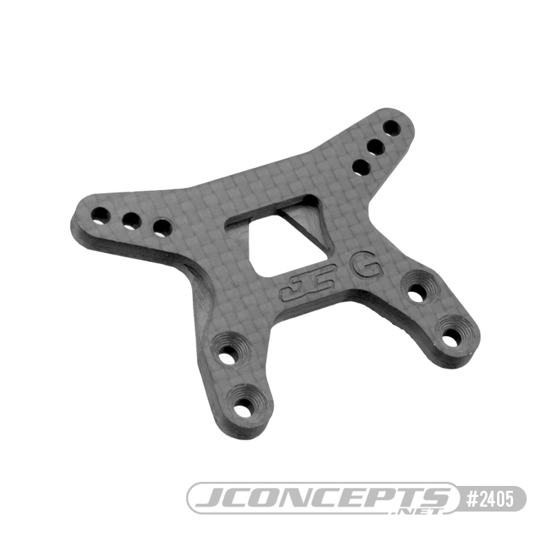 JConcepts Carbon Fiber Shock Towers For the B6.1 & B6.1D