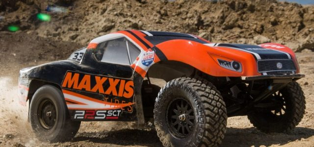 Losi RTR 22S Maxxis & K&N Themed 2wd Short Course Trucks [VIDEO]