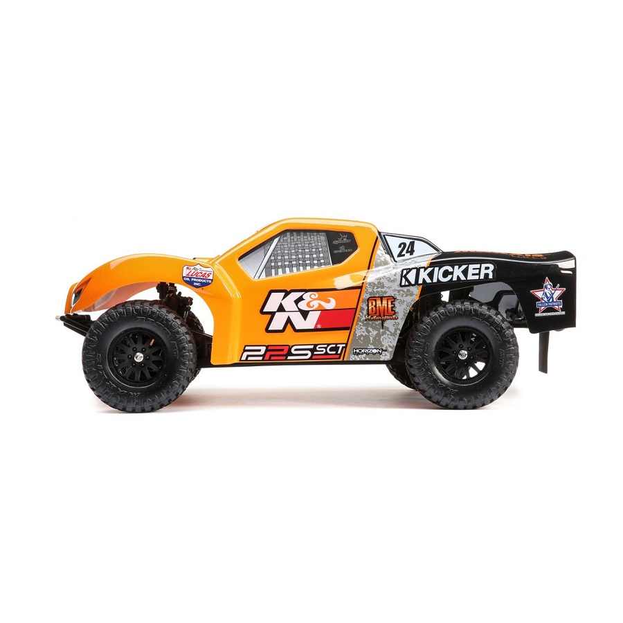 Losi RTR 22S Maxxis & K&N Themed 2wd Short Course Trucks