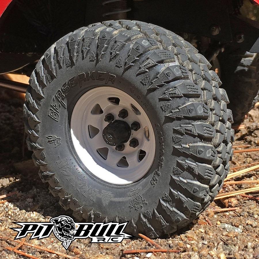 Pit Bull RC Alien Kompound 1.55 Braven Berserker Tires
