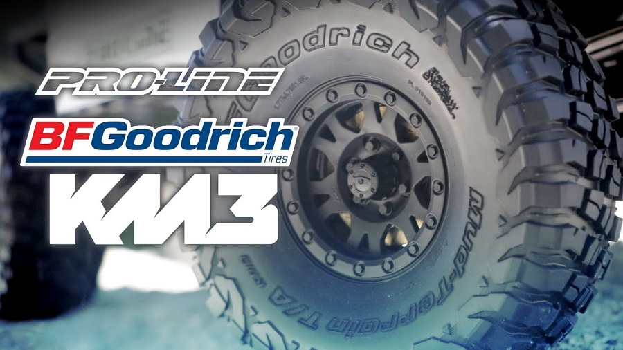 "Bf Goodrich Truck Tires >> Pro-Line BFGoodrich Mud-Terrain T/A KM3 1.9"" Truck Tires [VIDEO] - RC Car Action"