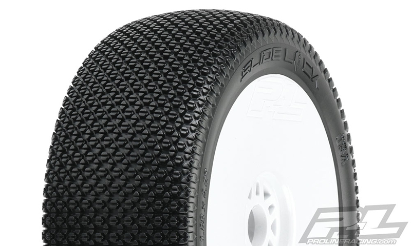 Pro-Line Pre-Mounted Slide Lock Off-Road 1/8 Buggy Tire