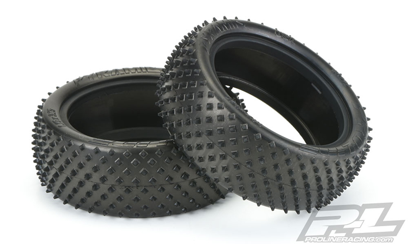 "Pro-Line Pyramid 2.2"" 4WD Off-Road Carpet Buggy Front Tires"
