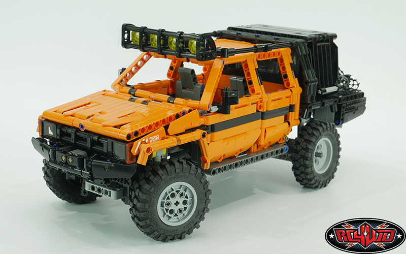 """RC4WD Rock Crusher M/T Brick Edition 1.2"""" Scale Tires"""