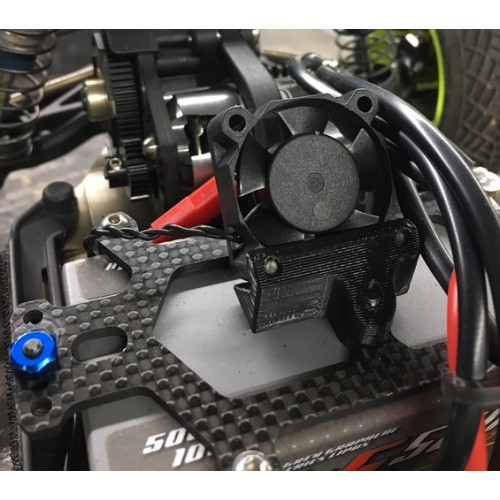 Schelle Extreme Battery Strap Fan Mount For The B6.1 / B6 / T6.1 / SC6.1