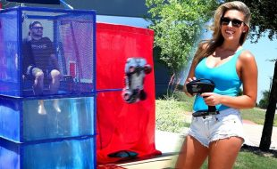 Traxxas Slash 4X4 Dunk Tank [VIDEO]