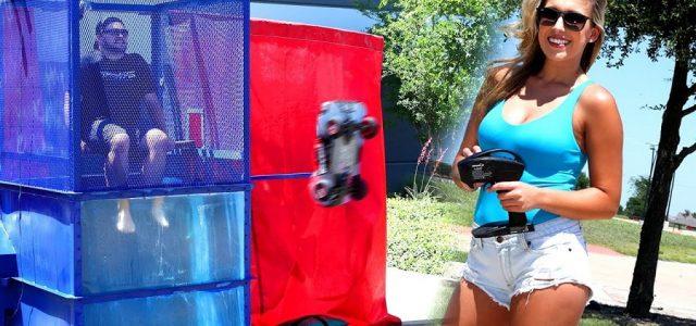Traxxas Slash 4X4 Dunk Tank [VIDEO]
