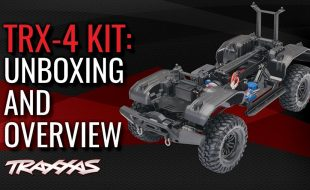 Traxxas TRX-4 Chassis Kit Unboxing & Overview [VIDEO]