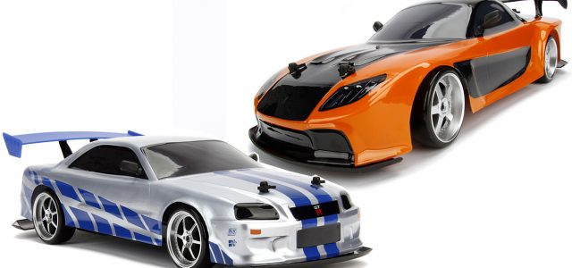 Jada Fast & Furious RX7 and GT-R Drift Cars - New pix and