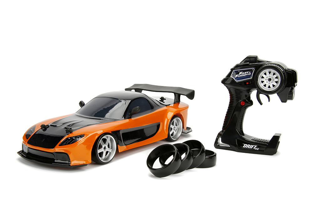 Jada Fast Furious Rx7 And Gt R Drift Cars New Pix And Details
