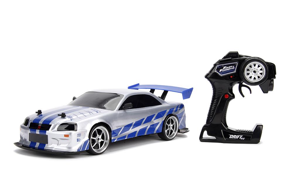 Fast & Furious, Jada, Tokyo Drift, RC Drift, R34 Nissan Skyline GT-R, Madza RX7, VeilSide