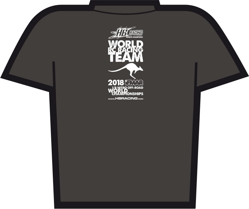 HB Racing 2018 Worlds T-Shirt