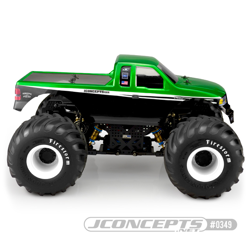 JConcepts 2008 Ford F-150 SuperCab Body