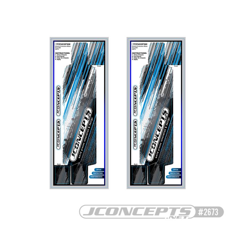 JConcepts XRAY XB4 Precut Chassis Protective Sheet