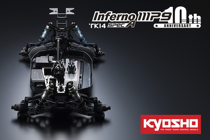 Kyosho SpecA 10th Anniversary Special Edition Inferno MP9 TKI4