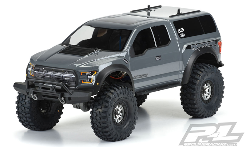 Pro-Line 2017 Ford F-150 Raptor Clear Body For The Traxxas TRX-4