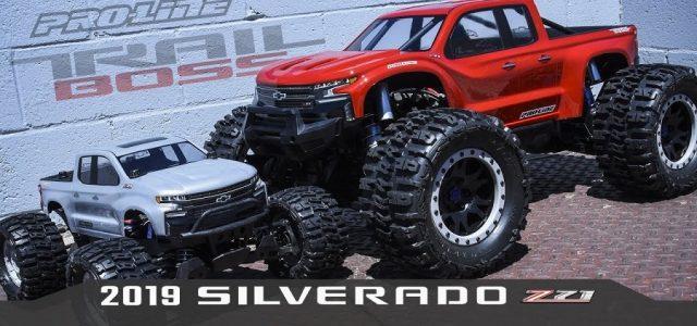 Pro-Line 2019 Chevy Silverado Z71 Trail Boss Clear Body [VIDEO]