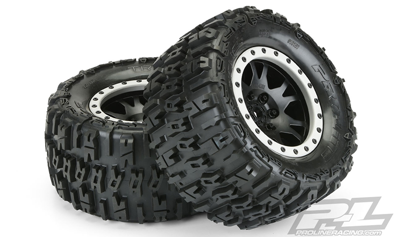 Pro-Line Mounted Trencher 4.3 Pro-Loc All Terrain Tires