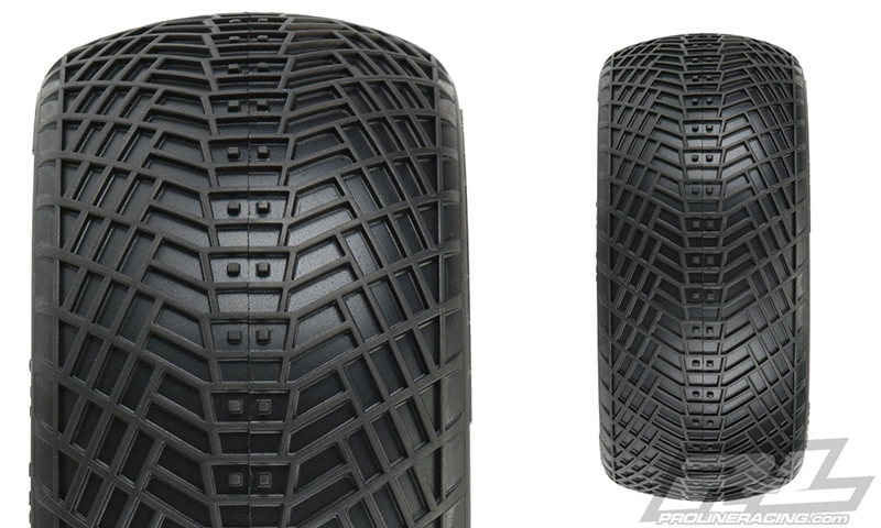 "Pro-Line Positron VTR 4.0"" Off-Road 1:8 Truck Tires"