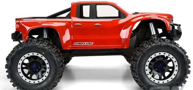 Pro-Line Pre-Cut 2019 Chevy Silverado Z71 Trail Boss Clear Body