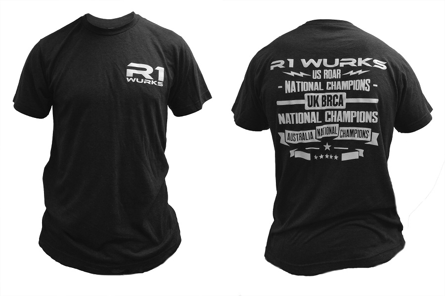 "R1 Wurks ""Champion"" Short Sleeve T-Shirt"