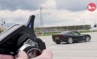 400hp Corvette converted to RC — and its street legal!