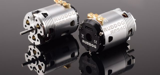 RUDDOG RP540 Fixed Timing Sensored Brushless Motors