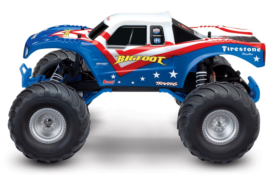 Red, White & Blue Edition Traxxas Bigfoot