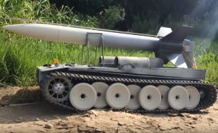 ROCKET TANK: This is the Best Way to Fly Model Rockets [VIDEO]