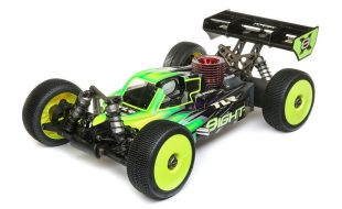 TLR 1/8 8IGHT-X 4WD Nitro Buggy Race Kit [VIDEO]