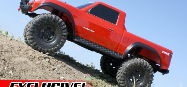 EXCLUSIVE! Traxxas Launches TRX-4 SPORT [VIDEO]
