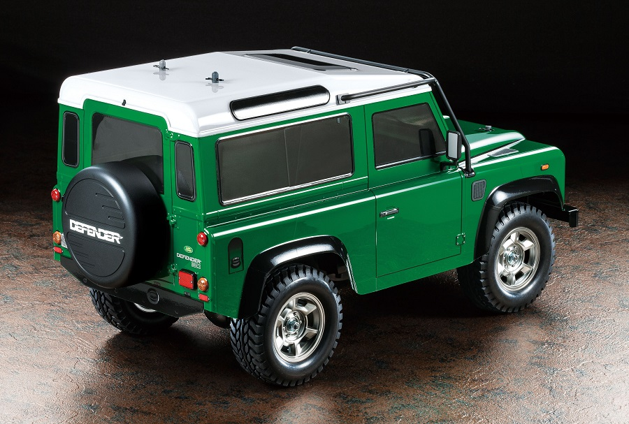 Rc Car Action >> Tamiya Land Rover Defender 90 - RC Car Action
