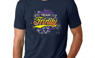 "Team Trinity ""WORKS"" Logo T-Shirt (Midnight Navy)"