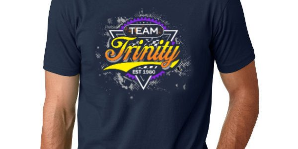 "Team Trinity ""WORKS"" Logo T-Shirt (Midnight Navy)"