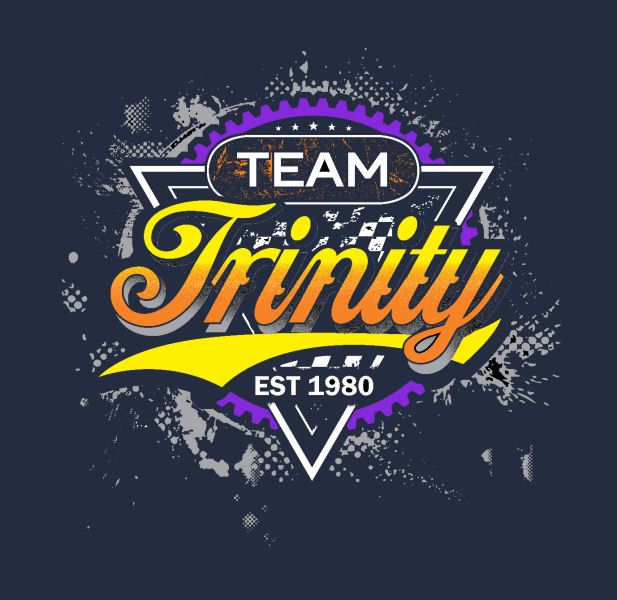 Team Trinity WORKS Logo T-Shirt (Midnight Navy)