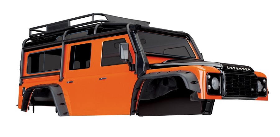 Traxxas Land Rover Defender Adventure Edition Body For The TRX-4