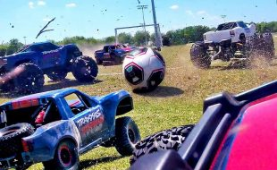 Traxxas RC Soccer Shootout! [VIDEO]