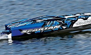 Traxxas RTR Spartan Brushless Boat With New Blue Paint Scheme [VIDEO]