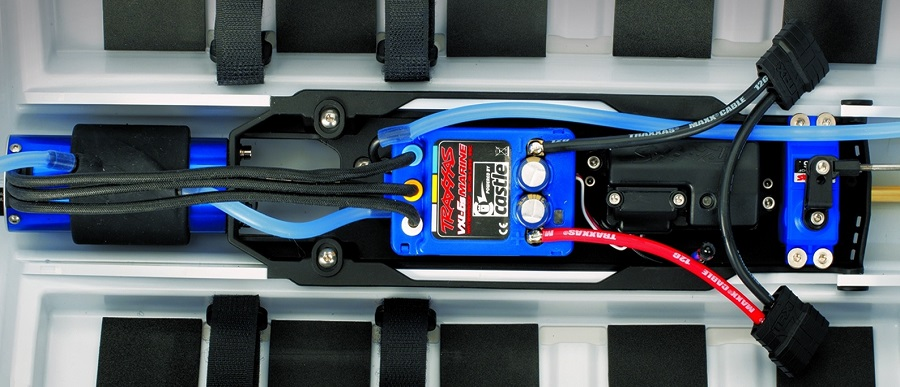Traxxas RTR Spartan Brushless Boat With New Blue Paint Scheme