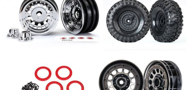 Traxxas Releases New Wheel & Tire Options For The TRX-4