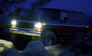 Traxxas TRX-4 Bronco Light Kit [VIDEO]