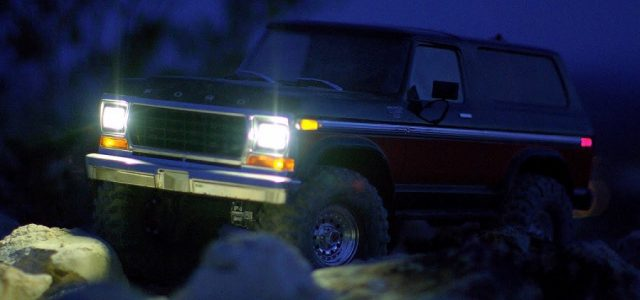 Traxxas TRX-4 Bronco Light Kit [VIDEO] - RC Car Action