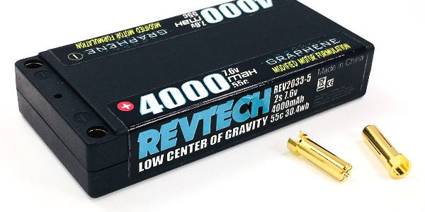 "Trinity 2S 7.6V 4000mah 55C LCG Modified ""Graphene"" LiHV Hi-Voltage Pack"