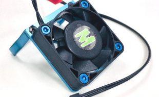 Trinity D8.5 Blue Motor Cooling Fan Mount With Fan